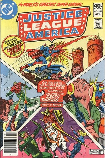 Cover for Justice League of America (DC, 1960 series) #177