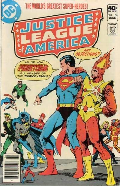 Cover for Justice League of America (DC, 1960 series) #179