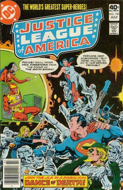 Cover for Justice League of America (DC, 1960 series) #180