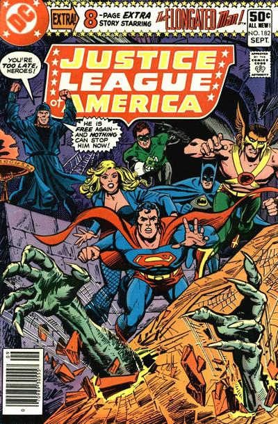Cover for Justice League of America (DC, 1960 series) #182