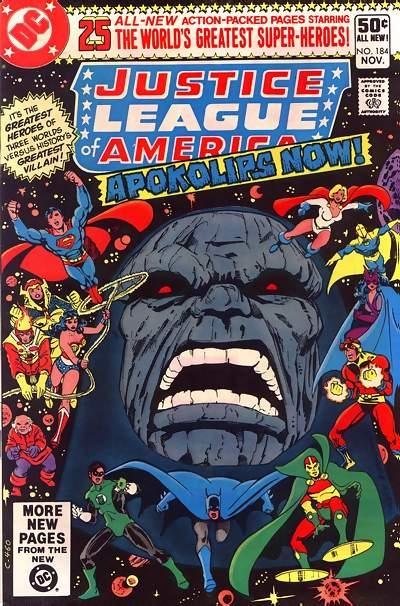 Cover for Justice League of America (DC, 1960 series) #184 [Direct Sales]