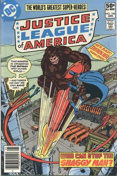 Cover for Justice League of America (DC, 1960 series) #186