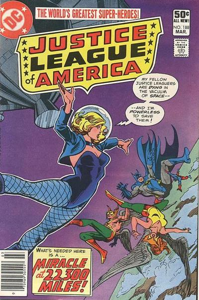 Cover for Justice League of America (DC, 1960 series) #188
