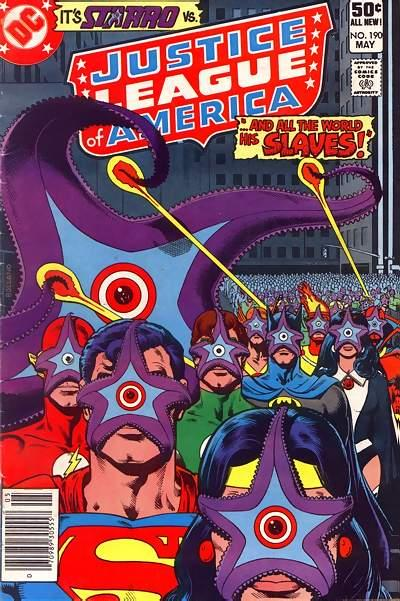 Cover for Justice League of America (DC, 1960 series) #190