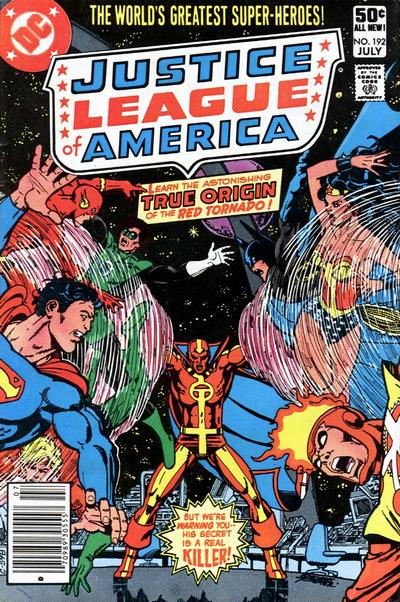 Cover for Justice League of America (DC, 1960 series) #192 [Direct Sales]