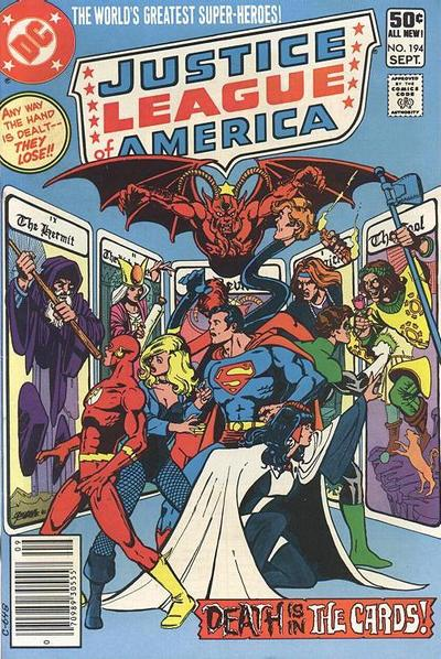 Cover for Justice League of America (DC, 1960 series) #194