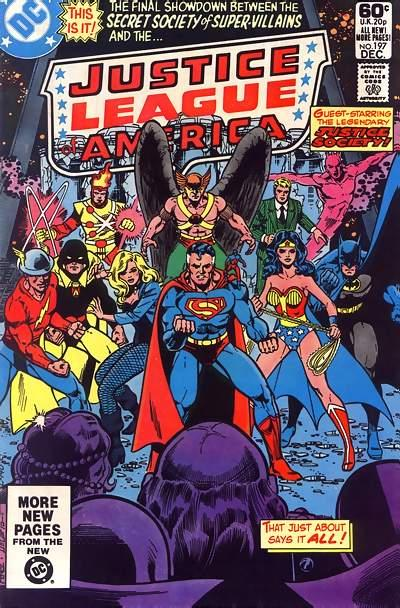 Cover for Justice League of America (DC, 1960 series) #197 [Direct]