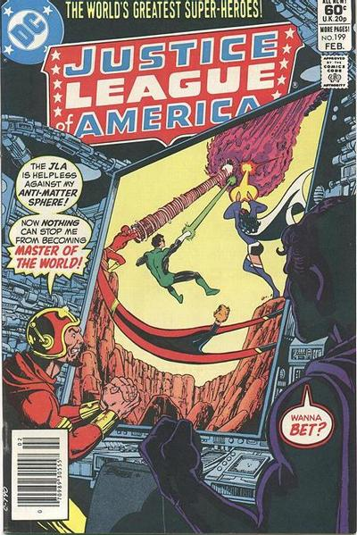 Cover for Justice League of America (DC, 1960 series) #199 [Direct Sales]