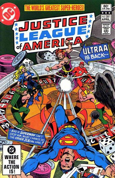 Cover for Justice League of America (DC, 1960 series) #201