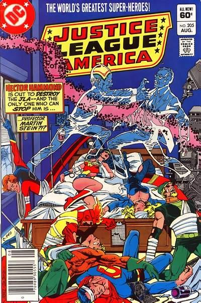 Cover for Justice League of America (DC, 1960 series) #205 [Direct Sales]
