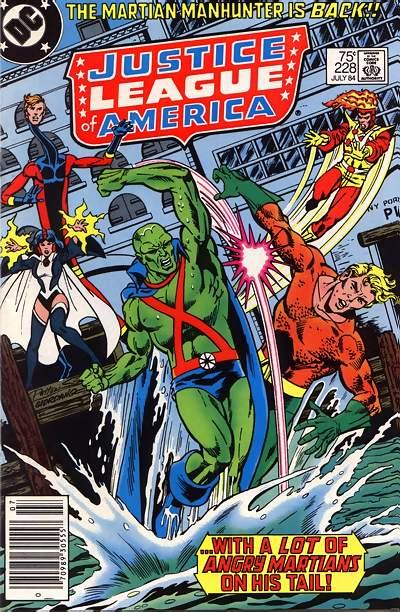 Cover for Justice League of America (DC, 1960 series) #228 [Direct]