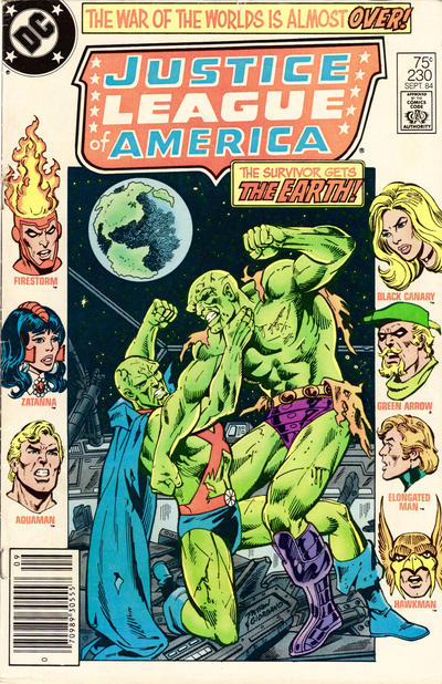 Cover for Justice League of America (DC, 1960 series) #230 [direct-sales]