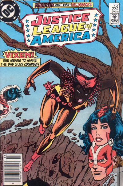 Cover for Justice League of America (DC, 1960 series) #234 [Direct]