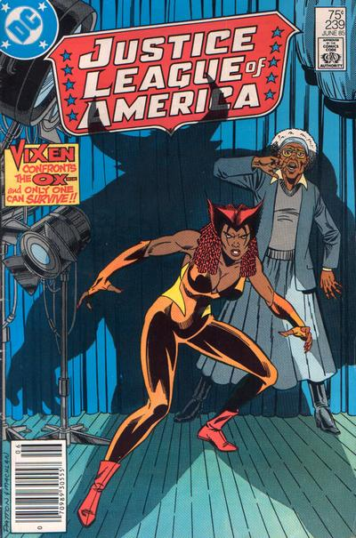 Cover for Justice League of America (DC, 1960 series) #239