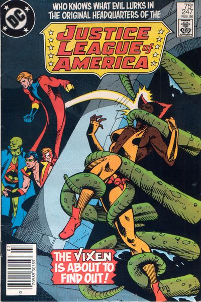 Cover for Justice League of America (DC, 1960 series) #247 [Direct Sales]