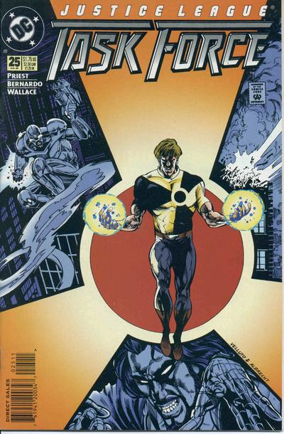 Cover for Justice League Task Force (DC, 1993 series) #25