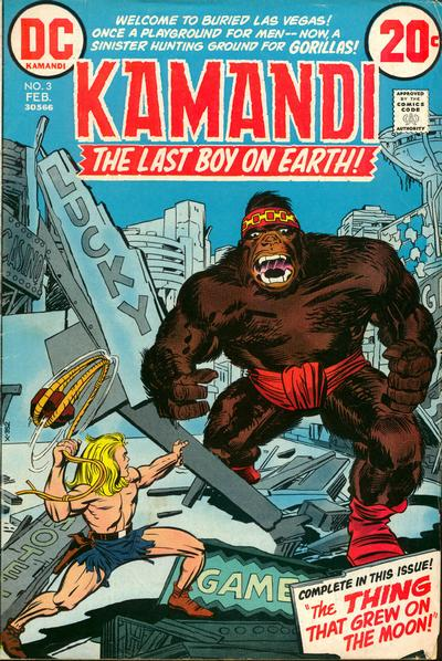 Cover for Kamandi, The Last Boy on Earth (DC, 1972 series) #3