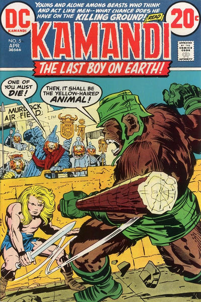 Cover for Kamandi, The Last Boy on Earth (DC, 1972 series) #5