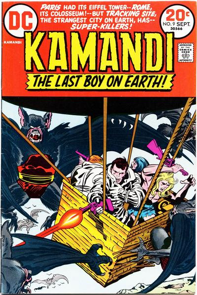 Cover for Kamandi, The Last Boy on Earth (DC, 1972 series) #9