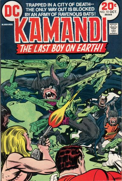 Cover for Kamandi, The Last Boy on Earth (DC, 1972 series) #10