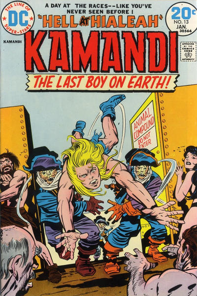 Cover for Kamandi, The Last Boy on Earth (DC, 1972 series) #13