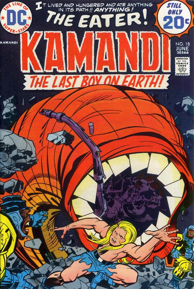 Cover for Kamandi, The Last Boy on Earth (DC, 1972 series) #18