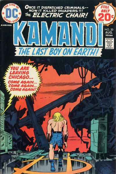 Cover for Kamandi, The Last Boy on Earth (DC, 1972 series) #20