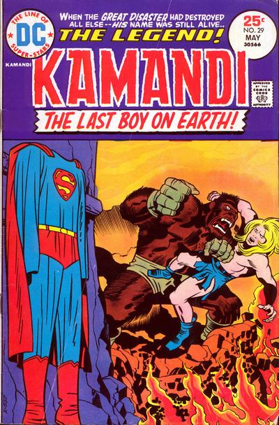 Cover for Kamandi, The Last Boy on Earth (DC, 1972 series) #29