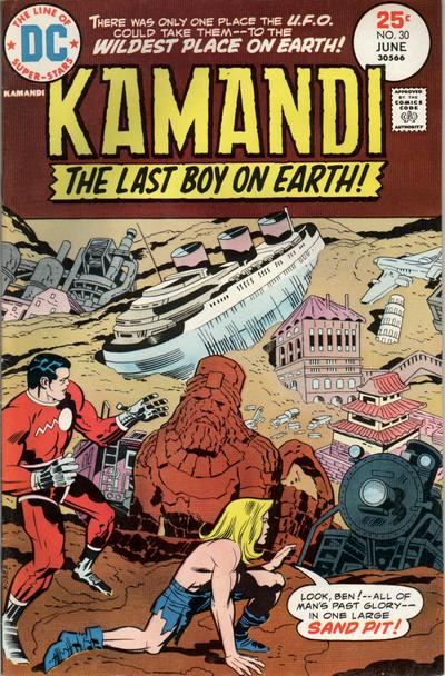 Cover for Kamandi, The Last Boy on Earth (DC, 1972 series) #30
