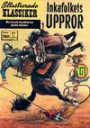 Cover for Illustrerade klassiker (Williams Förlags AB, 1965 series) #180 - Inkafolkets uppror