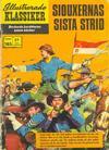 Cover for Illustrerade klassiker (Williams Förlags AB, 1965 series) #185 - Siouxernas sista strid
