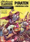 Cover for Illustrerade klassiker (Williams Förlags AB, 1965 series) #195 - Piraten i Karibiska sjön