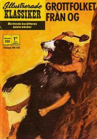 Cover Thumbnail for Illustrerade klassiker (Williams Förlags AB, 1965 series) #208 - Grottfolket från Og