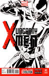 Cover for Uncanny X-Men (Marvel, 2013 series) #1 [Sketch Variant Cover by Joe Quesada]