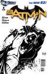 Cover for Batman (DC, 2011 series) #3 [Greg Capullo Black & White Cover]