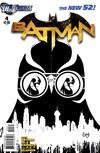 Cover Thumbnail for Batman (2011 series) #4 [Greg Capullo Black & White Cover]