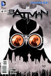 Cover for Batman (DC, 2011 series) #4 [Fourth Printing]
