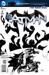 Cover for Batman (DC, 2011 series) #7 [Greg Capullo Black & White Cover]