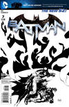 Cover for Batman (DC, 2011 series) #7 [Greg Capullo Black & White Cover]