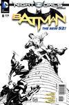 Cover for Batman (DC, 2011 series) #8 [Greg Capullo Black & White Cover]