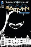 Cover for Batman (DC, 2011 series) #9 [Greg Capullo Black & White Cover]