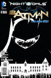 Cover for Batman (DC, 2011 series) #9 [Greg Capullo Black & White Cover]