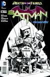 Cover Thumbnail for Batman (2011 series) #14 [Greg Capullo Black & White Cover]