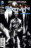 Cover Thumbnail for Batman (2011 series) #16 [Greg Capullo Black and White Variant Cover]