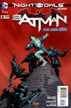 Cover for Batman (DC, 2011 series) #8 [Second Printing]