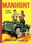 Cover for Manhunt Comic Album (World Distributors, 1960 series)