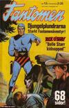 Cover for Fantomen (Semic, 1963 series) #12/1974
