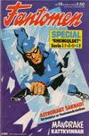 Cover for Fantomen (Semic, 1963 series) #18/1974