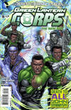 Cover for Green Lantern Corps (DC, 2011 series) #18