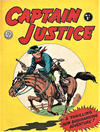 Cover for Captain Justice (Horwitz, 1963 series) #1